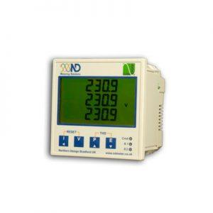 Analizador de red eléctrica con comunicación MODBUS RS485 o TCP/IP. Telecontrol y telegestión.