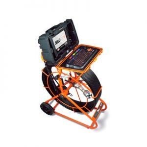 Equipo de inspección CCTV Sistema de empuje manual Videoinspección Solopro