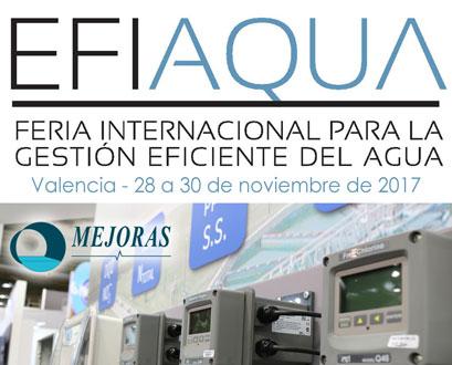 Efiaqua. Feria para la gestión eficiente del agua