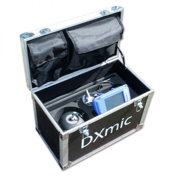 Geófono localizador de fugas DXmic. Maleta de transporte