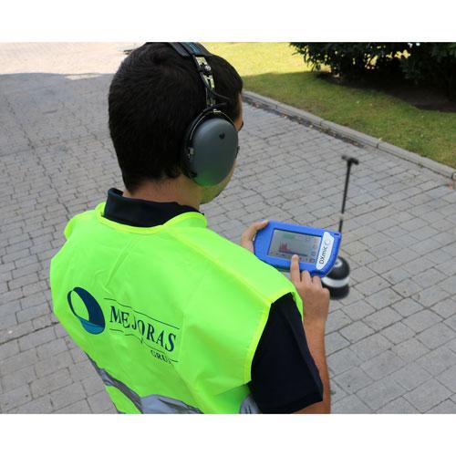 Geófono de localización de fugas de agua