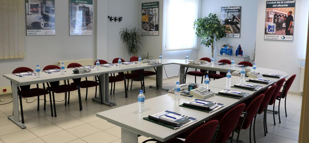 Salas de formación teórico/práctica Mejoras Energéticas Tecsan