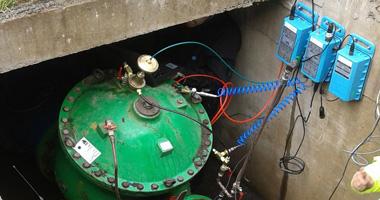 Pegasus+ controlador de válvulas reductoras de presión