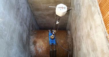 Caudalímetro electrómaganético de inserción Hydrins2, para medición de caudal en redes de agua. Mejoras Energéticas